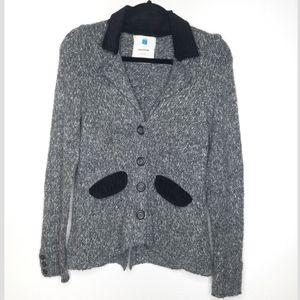 Anthro SPARROW wool blend corduroy button jacket